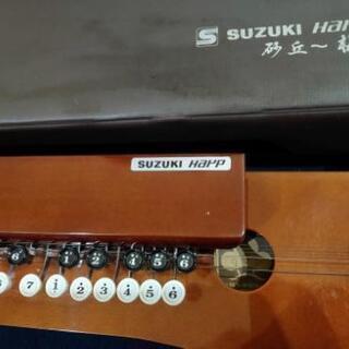 SUZUKI Harp 大正琴 砂丘一梅 鈴木楽器製作所 大正琴