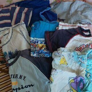 ポケモンやブランド有り 夏服男児洋服セット まとめて福袋