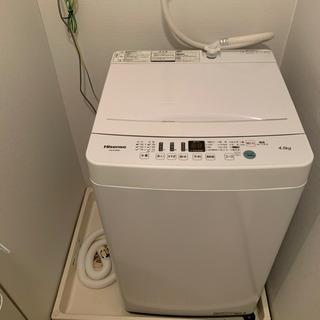 洗濯機 10回くらい使用(タオルのみ)