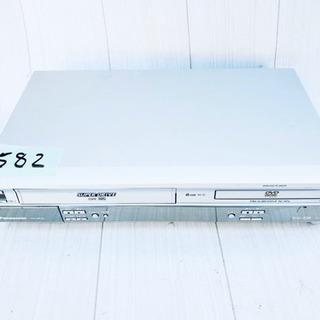 582番 Panasonic✨DVDプレーヤー  NV-V…