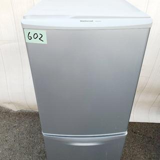 602番 National✨ ノンフロン冷凍冷蔵庫❄️  NR-...