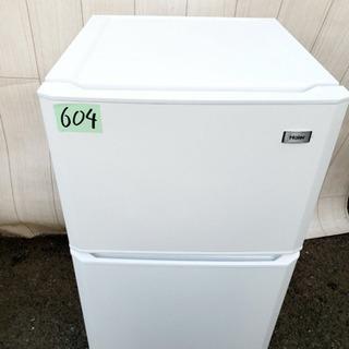 604番 Haier✨ 冷凍冷蔵庫❄️  JR-N106H‼️