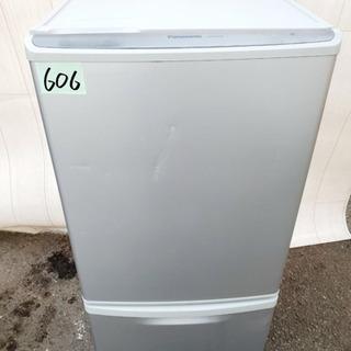 606番 Panasonic✨ ノンフロン冷凍冷蔵庫❄️  NR...