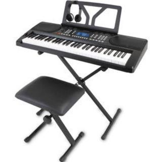 №b114 ワントーン 電子キーボード 61鍵盤 初心者セット ...