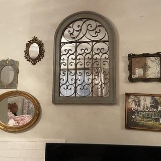 アンティークミラー・お洒落な鏡