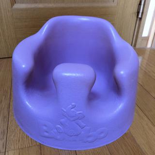 バンボ 紫 テーブル付き
