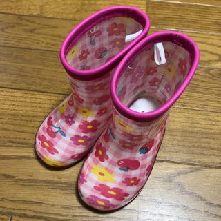 西松屋 女の子 長靴★ 14.0cm