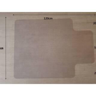 チェアマット 透明 床保護 丸洗い可能 ハードタイプ 2枚目