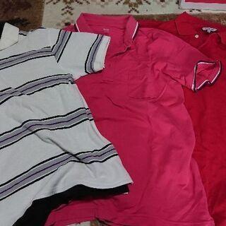 ポロシャツ3枚(サイズM~L)