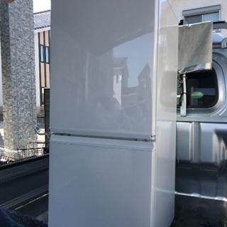 2015年製シャープホワイト冷凍冷蔵庫137L千葉県内配送無料。...