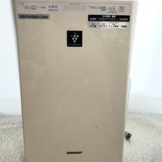 シャーププラズマクラスター 空気清浄機 加湿器
