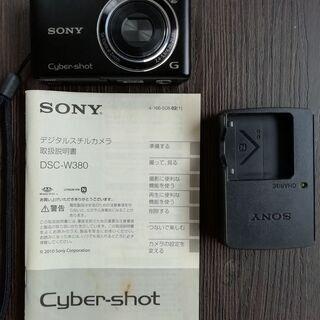 デジタルスチルカメラ Cyber-shot DSC-W380
