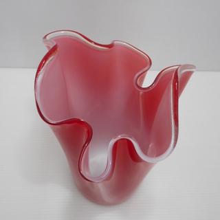 色 ガラス 花瓶 花器 花入れ 花びん 陶器 高さ30 cm ...