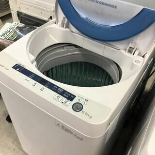 シャープ5.5K洗濯機 2015年製 分解クリーニング済み!!!