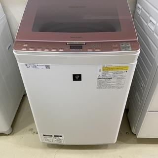 洗濯機 シャープ SHARP ES-PX8C 2018年製 8....