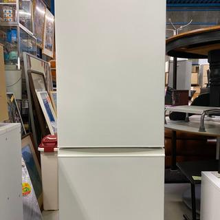 2018年製 少し多めの2ドア冷蔵庫!AQUA ノンフロン冷凍冷...