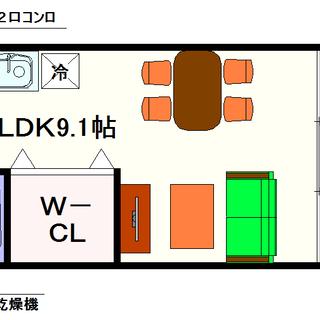 【フジパレスなんばWEST】2号タイプ!1LDKタイプ!空き予定...