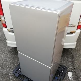 ■2017年製■ユーイング 110L 2ドア冷蔵庫 Joshin...
