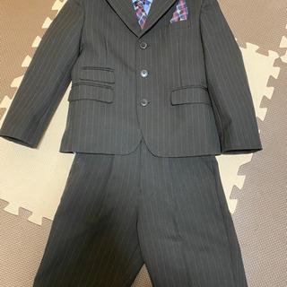 美品卒園式入学式スーツ 120cm