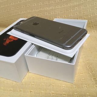 iPhone6s SpaceGray 16GB au