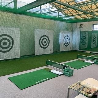 寒い時期、辛い花粉に快適なインドアゴルフ練習場♬