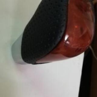 シフトノブ クラウン18 20 高級レザー/茶木目