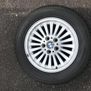 冬タイヤ BMW純正ホイール4本セット スタッドレスタイヤ…