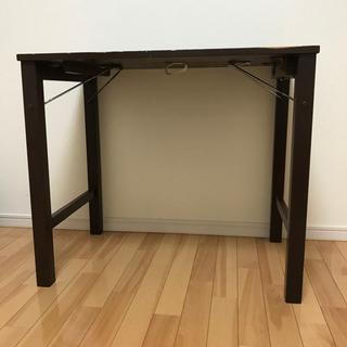 折りたたみテーブル 幅80×奥行50×高さ70