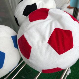 ふわふわサッカーボールです。