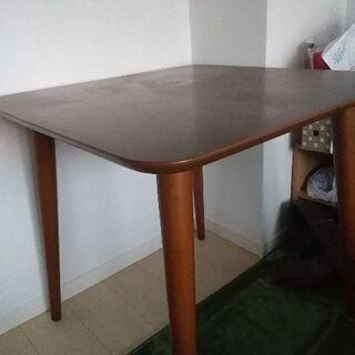 スクエア ダイニングテーブル 75×75