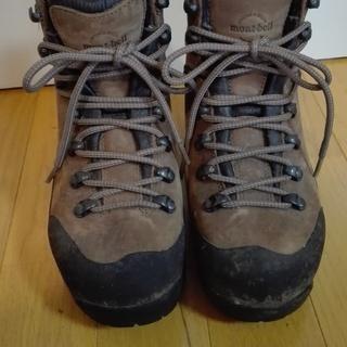 モンベルの登山靴(冬山用) 23cm
