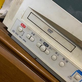 ブラウン管テレビ DVD VHS一体型 売り切り