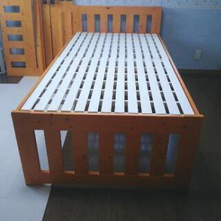 親子ベッド(キャスター付収納ベッド)シングルベッド 組み立て