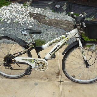 子供用自転車 パナソニック Rider jr 26インチ 6速ギ...