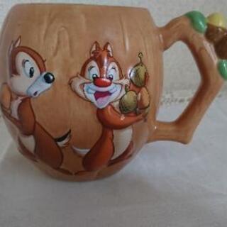 【差上げます】ディズニーのチップ&ベール  可愛いマグカップ