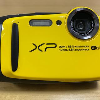 防水カメラ FUJIFILM FINEPIX XP120 ジャンク品