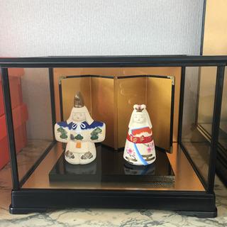 3月ひなまつり京陶人形 ケース付き