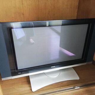 日立 WOOO プラズマテレビ w32p-7700
