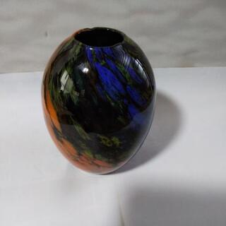 ガラスコーティング花瓶