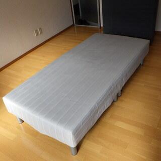 格安!ニトリ シングル 脚付きマットレス スプリング 札幌…