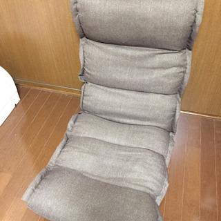 ブラウンの座椅子  1000円