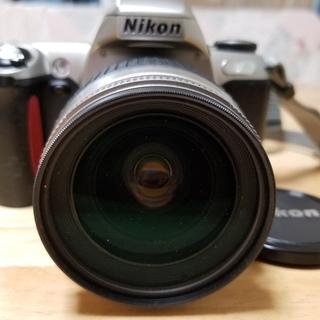 ★希少!Nikon u フィルム一眼レフ + 純正Wズーム + ...