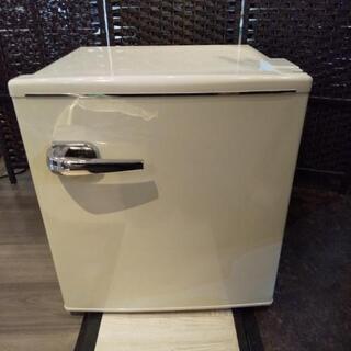 1ドア レトロ 冷蔵庫 TQR-148WH 2018年製 美品 動作品
