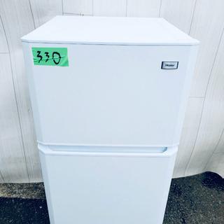 ❸330番 Haier✨ 冷凍冷蔵庫❄️  JR-N106E‼️