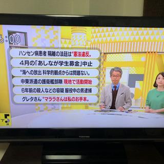 テレビ TOSHIBA REGZA 40インチ