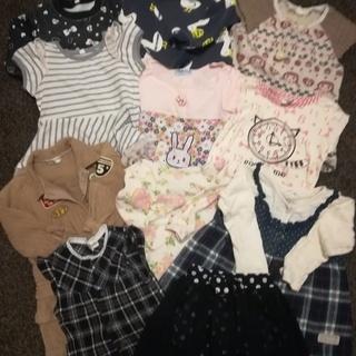女の子 子供服 90〜95 (110)まとめ売り