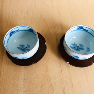 湯呑みと茶托 2個セット
