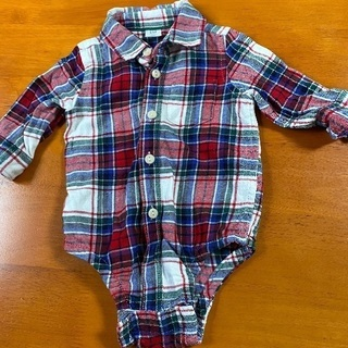GAP Baby シャツ型ロンパース