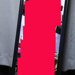 大型 ◆ スタンド ミラー 姿見 ◇ スチール製フレーム 鏡 ド...