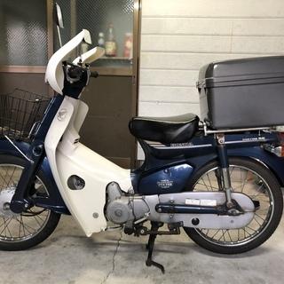 ホンダ スーパーカブ50カスタム  C50  実働 セル付き 便利!